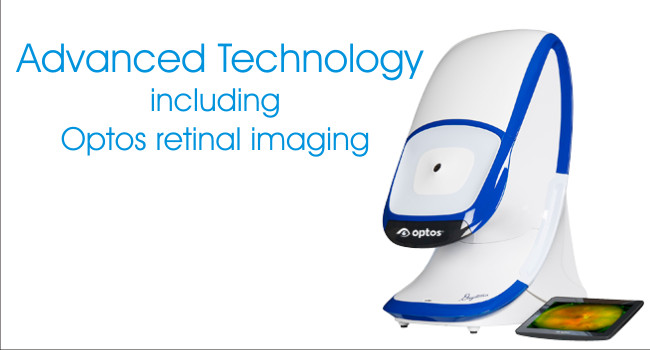 we use advanced technology for better eyecare